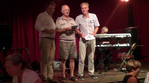 Martien Veekens (midden) eindigde op de tweede plaats (foto Lilian Lambrechts)